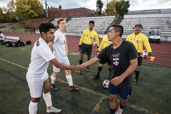 2018 Boys Varsity Soccer vs. Milwaukie