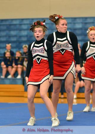 Cheer at Mason Feb 4 - Addison varsity - Round 3