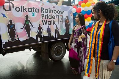2014 Kolkata Rainbow Pride Walk
