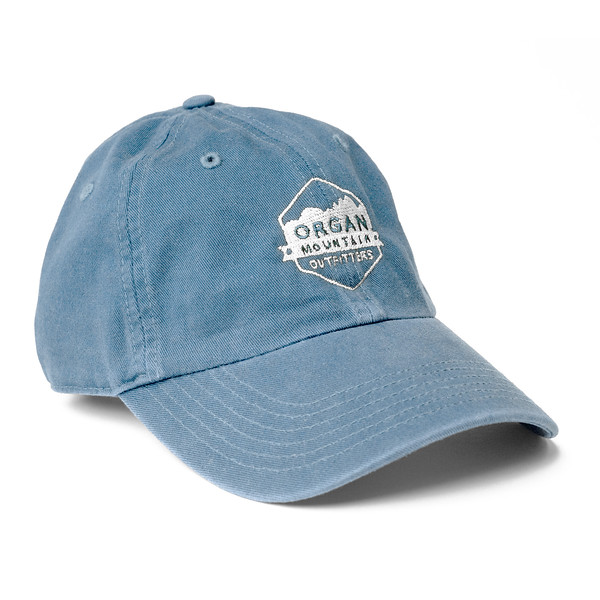 Outdoor Apparel - Organ Mountain Outfitters - Hat - Dad Cap Classic Logo - Carolina Blue.jpg