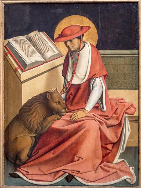 01940 Maestro de Grossgmain 1498 Saint Jerome as a Cardinal.jpg
