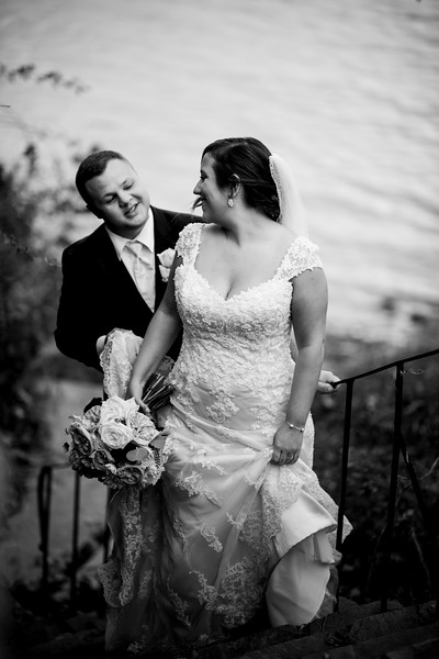 Emily and Stevie // Location: Top of the Bay in Aberdeen MD (it's a venue that's actually ON the proving grounds), and it overlooks the Chesapeake Bay which is what you can see directly behind them.
