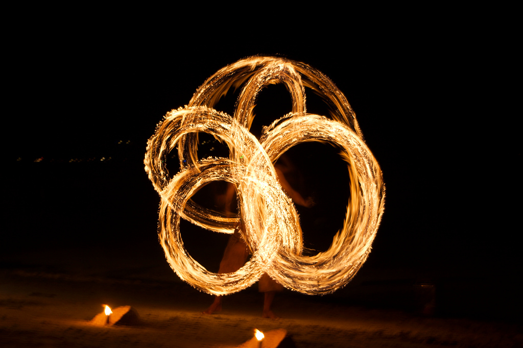 Fireshow at Big Blue