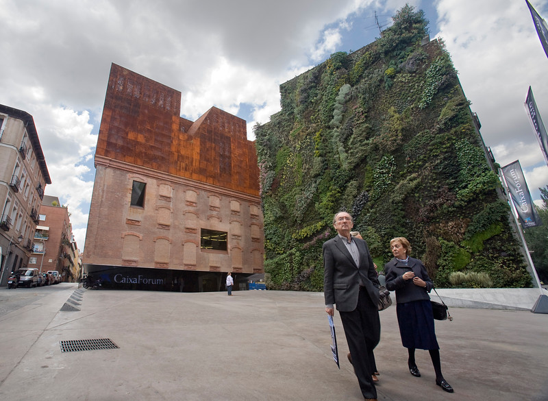 CaixaForum Building, Madrid, Spain