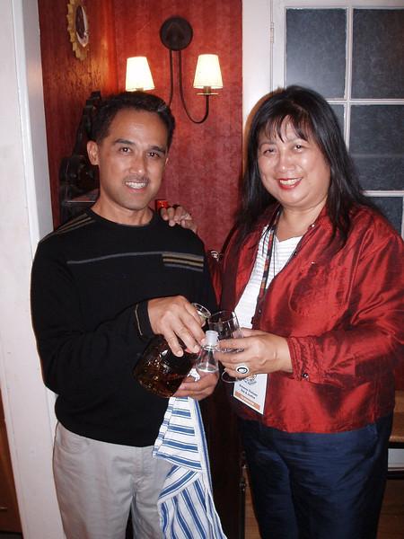 Ermena Vinluan in LA for Film Award 10/4/2008