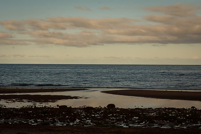 Sunset at Sally's Beach: Spry Point, PEI