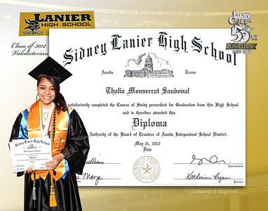 2012 Lanier Keedjit Diplomas