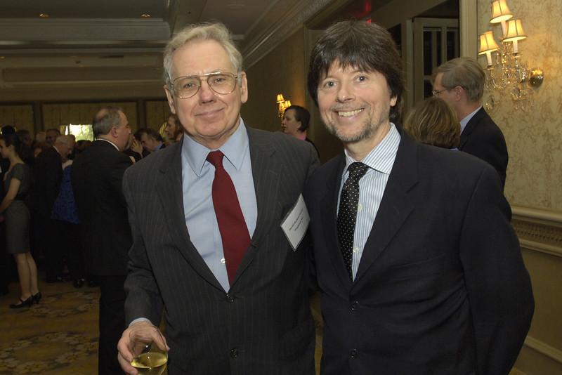 Professor David Hackett Fischer with Ken Burns