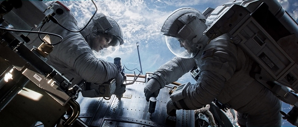 ". 2014 Academy Award Nominee for Best Visual Effects:  ""Gravity.\"" (AP Photo/Courtesy Warner Bros. Pictures)"