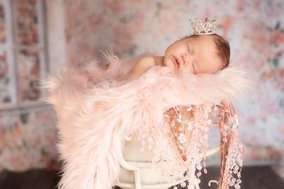 Evie Newborn Shoot