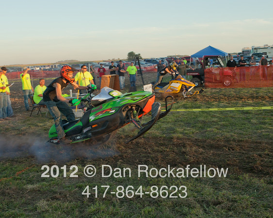 Snowmobile drags 2012