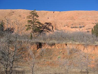 Climbing at Red Rock Cyn - 1/02/06