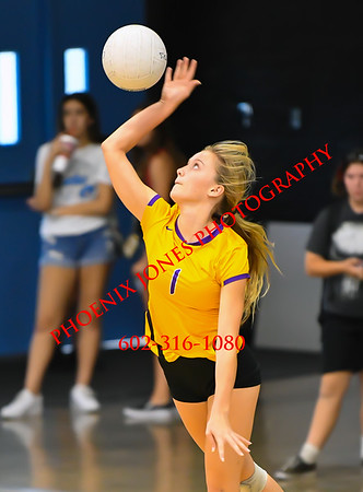 10-18-19 - Sunrise Mountain vs Centennial - PUSD Girls Volleyball Tournament - Final