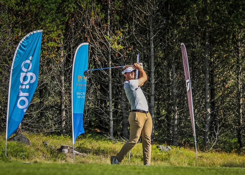 Stefán Þór Bogason.  Íslandsmót golf 2019 Grafarholt - 1. keppnisdagur. Mynd: seth@golf.is