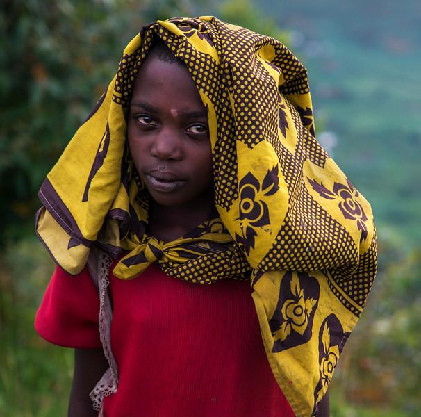 Ugandan girl