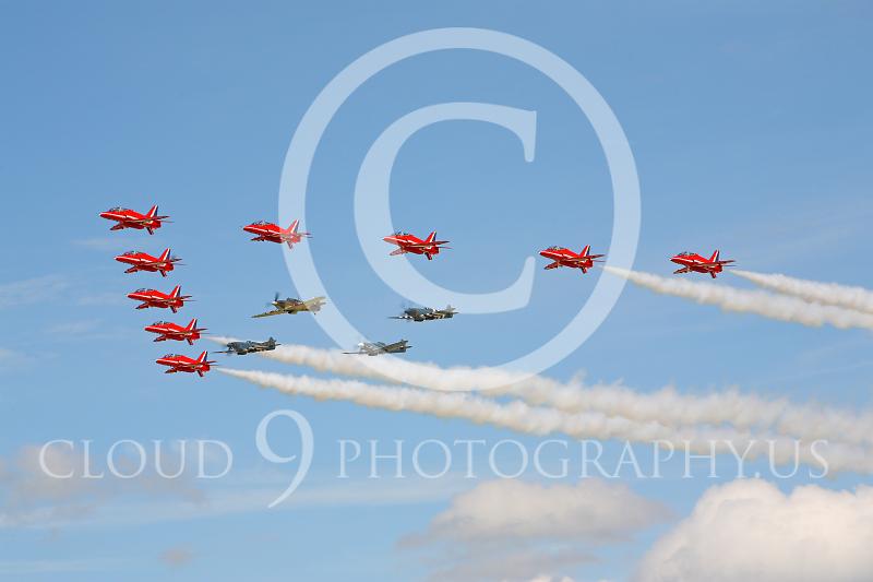 Red Arrows 00012 BAE Hawk British RAF Red Arrows by Peter J Mancus.JPG