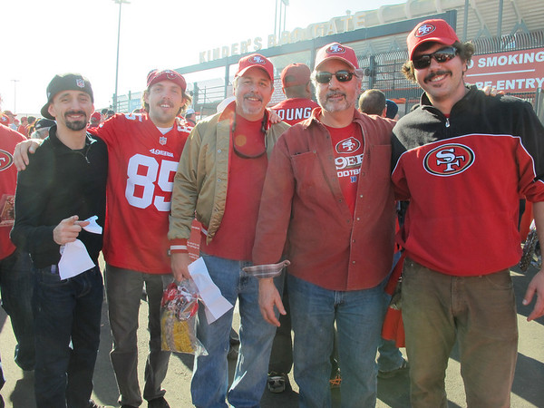 49ers at Candlestick 2013