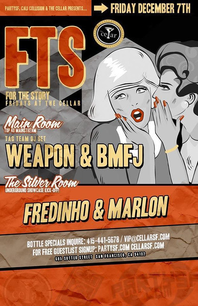 FTS @ The Cellar -SF 12.8.12