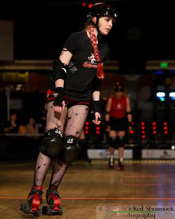 6 April, 2013 RMRG's Rollerpunks and USPS vs. Sugar Kill Gang