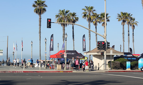 Saturday at Huntington Beach Surf race
