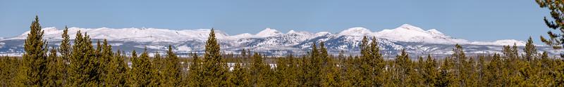 Madison Range - Mt Holmes and Three Rivers Peak