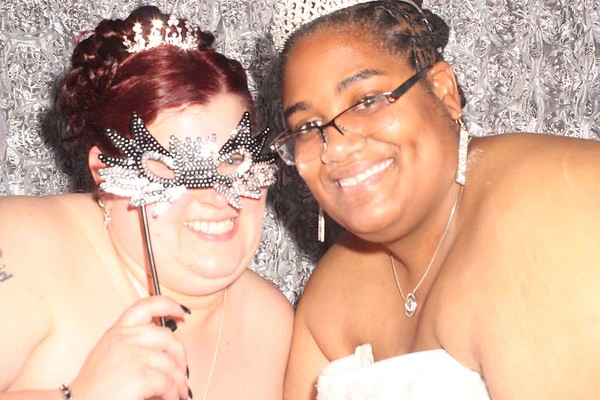 Shannon and Marquita Wedding Photobooth