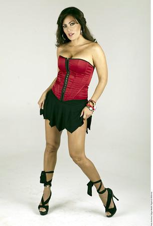 Modelo y actriz mexicana Jackeline Arroyo