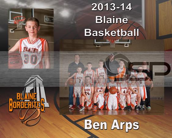 2013-14 Blaine 5th Gr AAU Team and individual