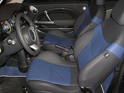 Driver's side of the interior.