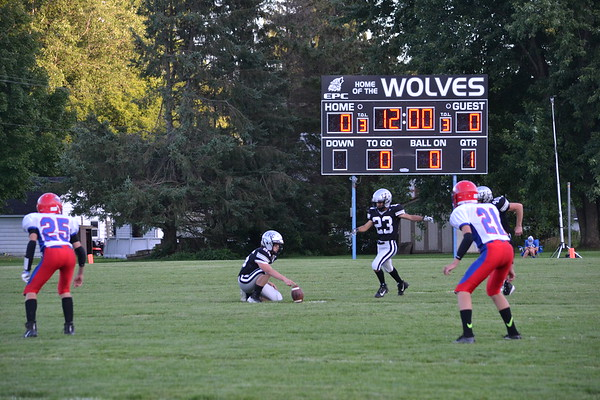 EPC Wolves football hosting Alma-Pepin Eagles on Aug. 23rd, 2019