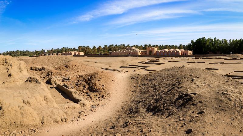 Am Rand der antiken Stadt Kerma wurde 2007 das Museum errichtet