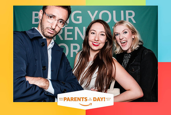 """Amazon """"Bring Your Parents to Work Day"""" -  Shoreditch"""