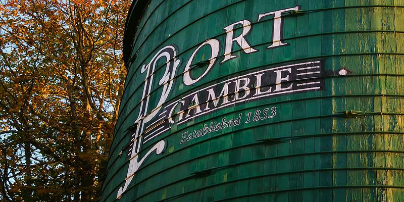 Fall in Port Gamble