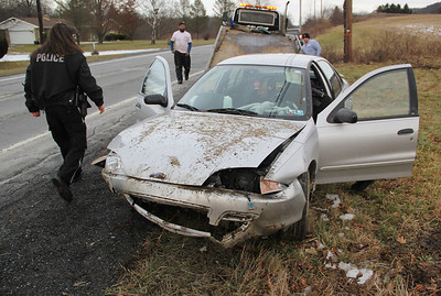 Vehicle Crash, People Arrested, Penn Drive, West Penn Township (12-27-2013)