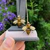 Vintage Bee Conversion Earrings 19