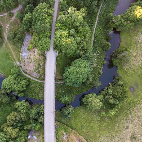 Headstone Viaduct in Monsal Dale