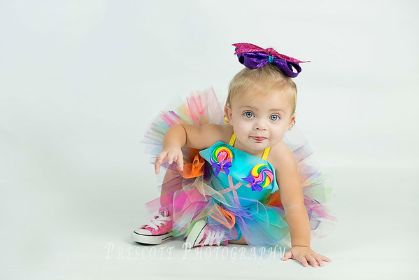 Ella's One Year Pictures
