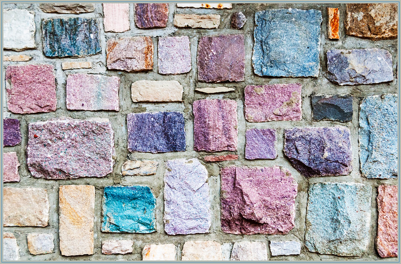April 3, 2014  Stone Wall  (93/365)  Daily theme: Shapes  #fmsphotoaday