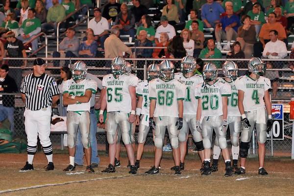 Hokes Bluff vs Glencoe, October 29, 2009