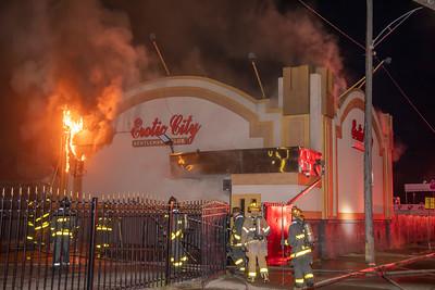 Conant St. Gentelman's Club Fire (Detroit, MI) 10/14/18