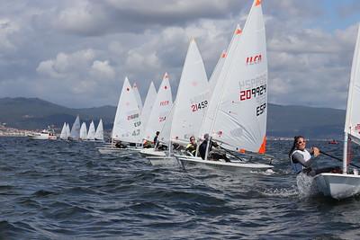 ⛵ 1ª Jornada del Campeonato Ibérico ILCA Trofeo Concello De Vigo
