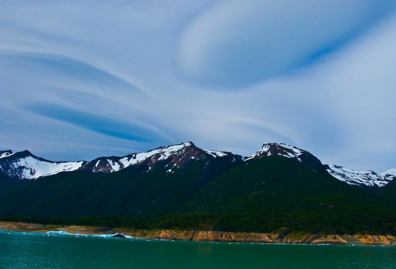 cool sky, perito moreno glacier