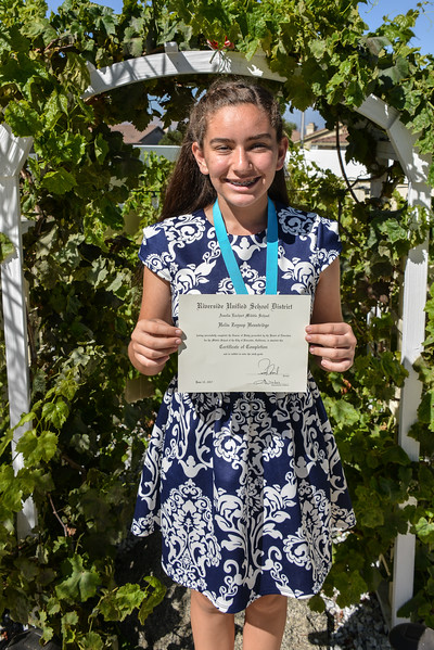 Helin's Promotion to 9th Grade