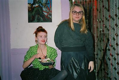 Veronique's Birthday Party, East Village, NYC, 1986