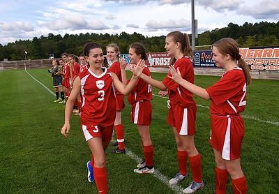 LTS Varsity Girls Soccer vs Windsor photos by Gary Baker
