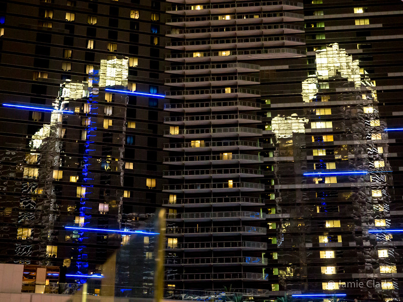 Vegas Reflected. Aria, Las Vegas