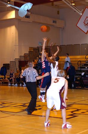 DHS Varsity Boys Basketball - 02-03-06