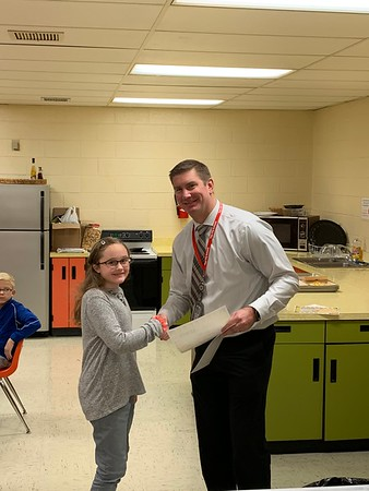 Dec Student of the Month