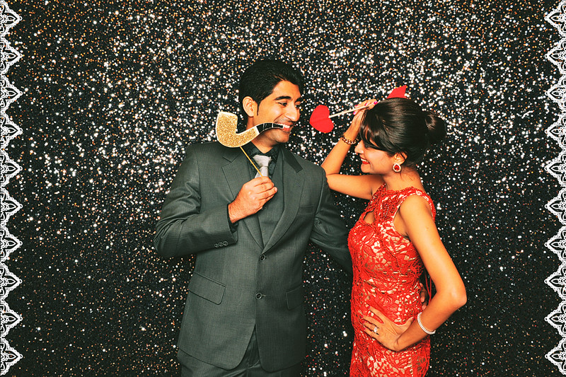 Sumitra & Pramod - Formal Booth