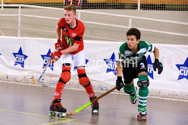 U15 Eurockey Cup 2017 day 1 - Sporting CP vs SCRA Saint Omer ​